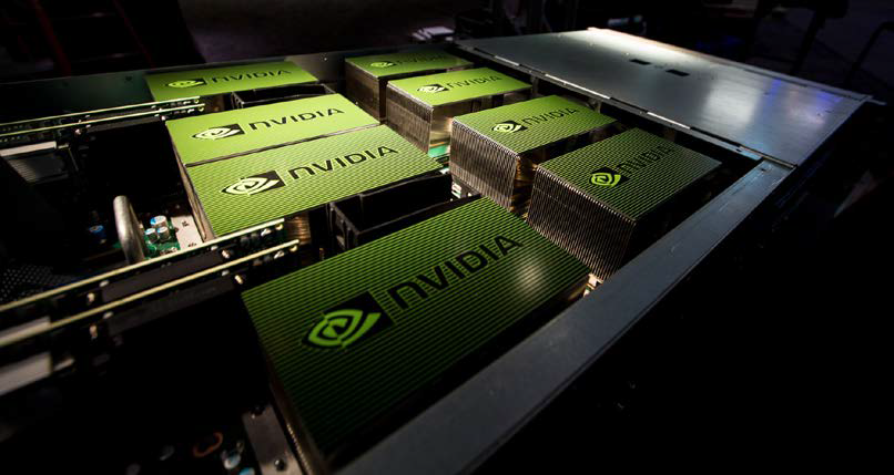 Blue Nvidia Png - NVIDIA Corporation All Set To Join 'S&P 100' Blue Chip Index