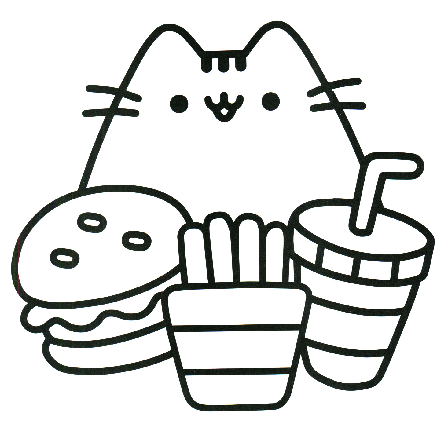 Nyan Cat Coloring Pages Nyan Cat Colorin 590594 Png Images Pngio