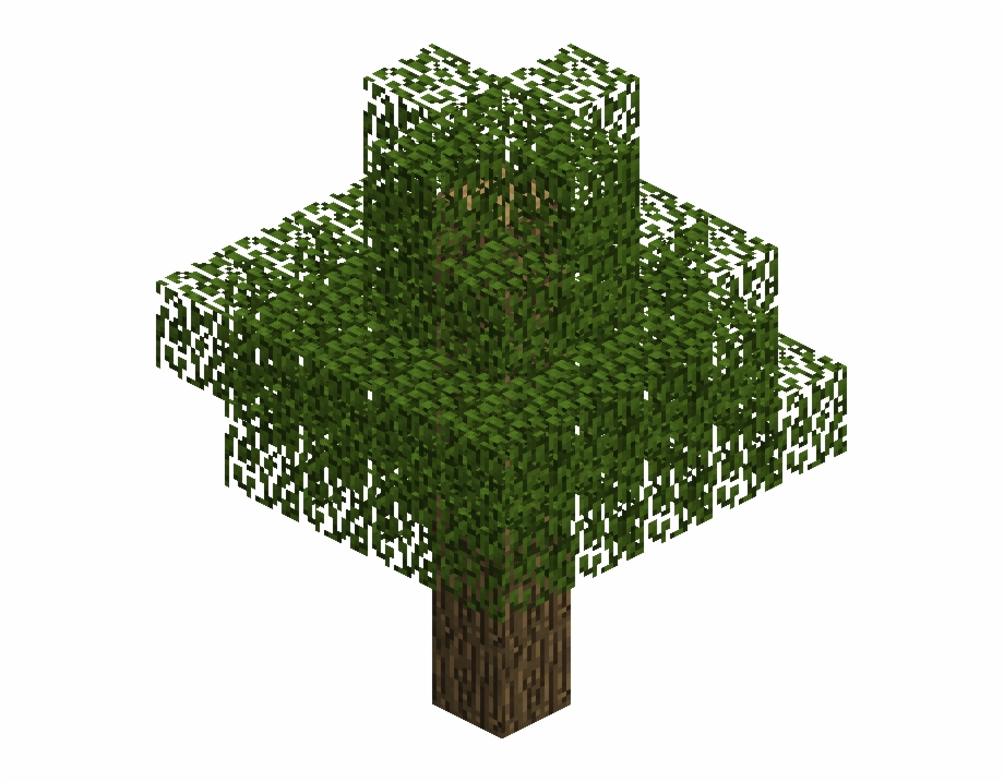 Minecraft Tree Png Free Minecraft Tree Png Transparent Images