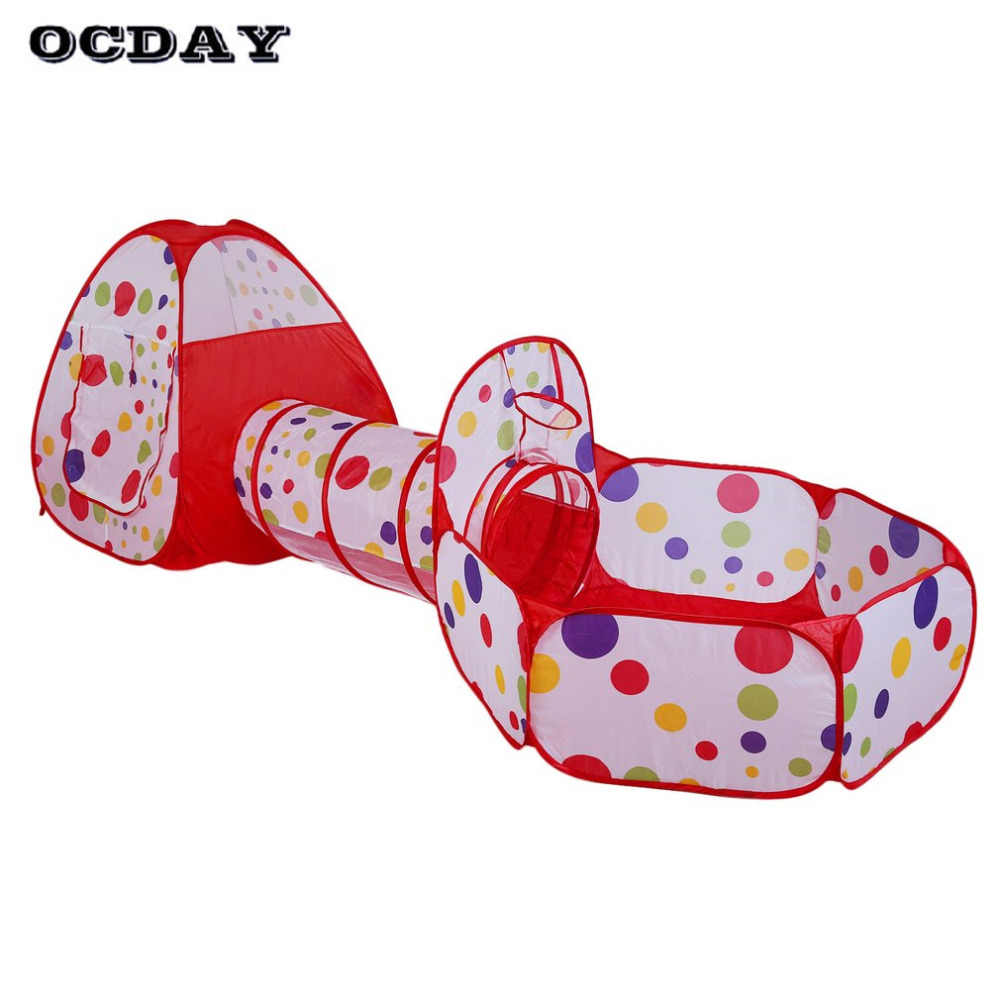 Play Pouse - OCDAY 3 in 1 toys tent for children kids Portable Foldable Pop Up ...