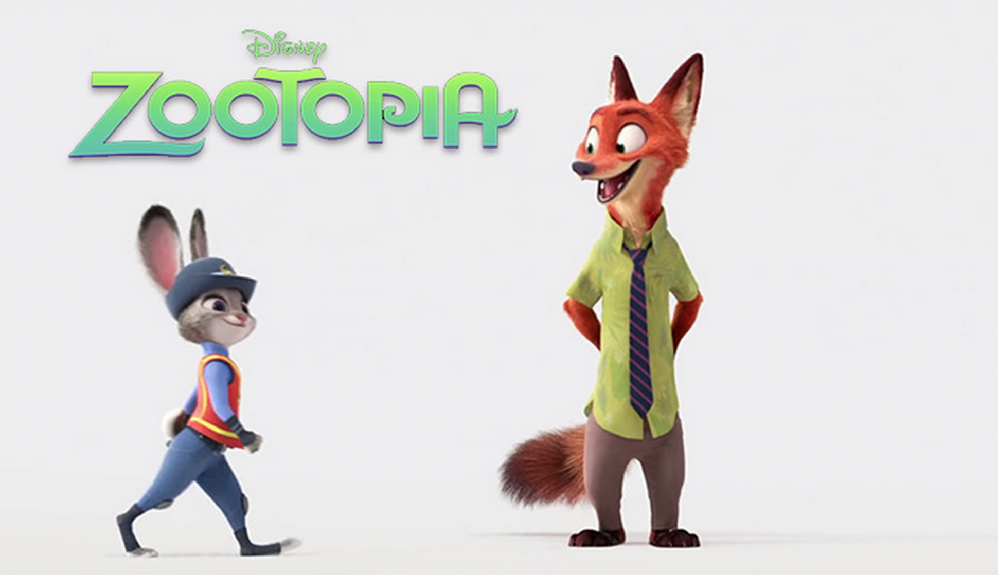 Png Zootopia - Officer Judy Hopps and Nick Wilde, best friends and crime fighting partners  from the Disney