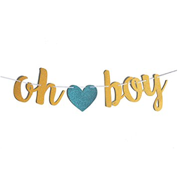 Oh Boy Baby Shower Banner Baby Boy Sho 1526724 Png Images Pngio