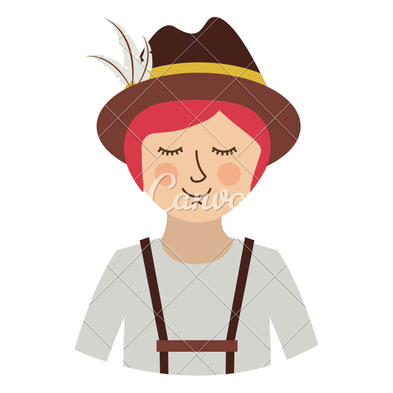 German Culture Png - Oktoberfest Icon of German Culture - Icons by Canva