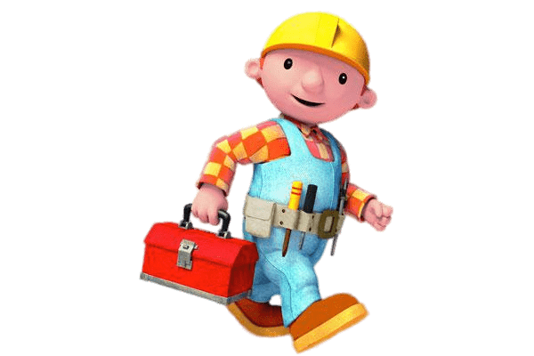 Bob The Builder Transparent - Old Bob the Builder on His Way transparent PNG - StickPNG