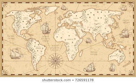 Vintage Map Png - Old Maps Antique Images, Stock Photos & Vectors | Shutterstock