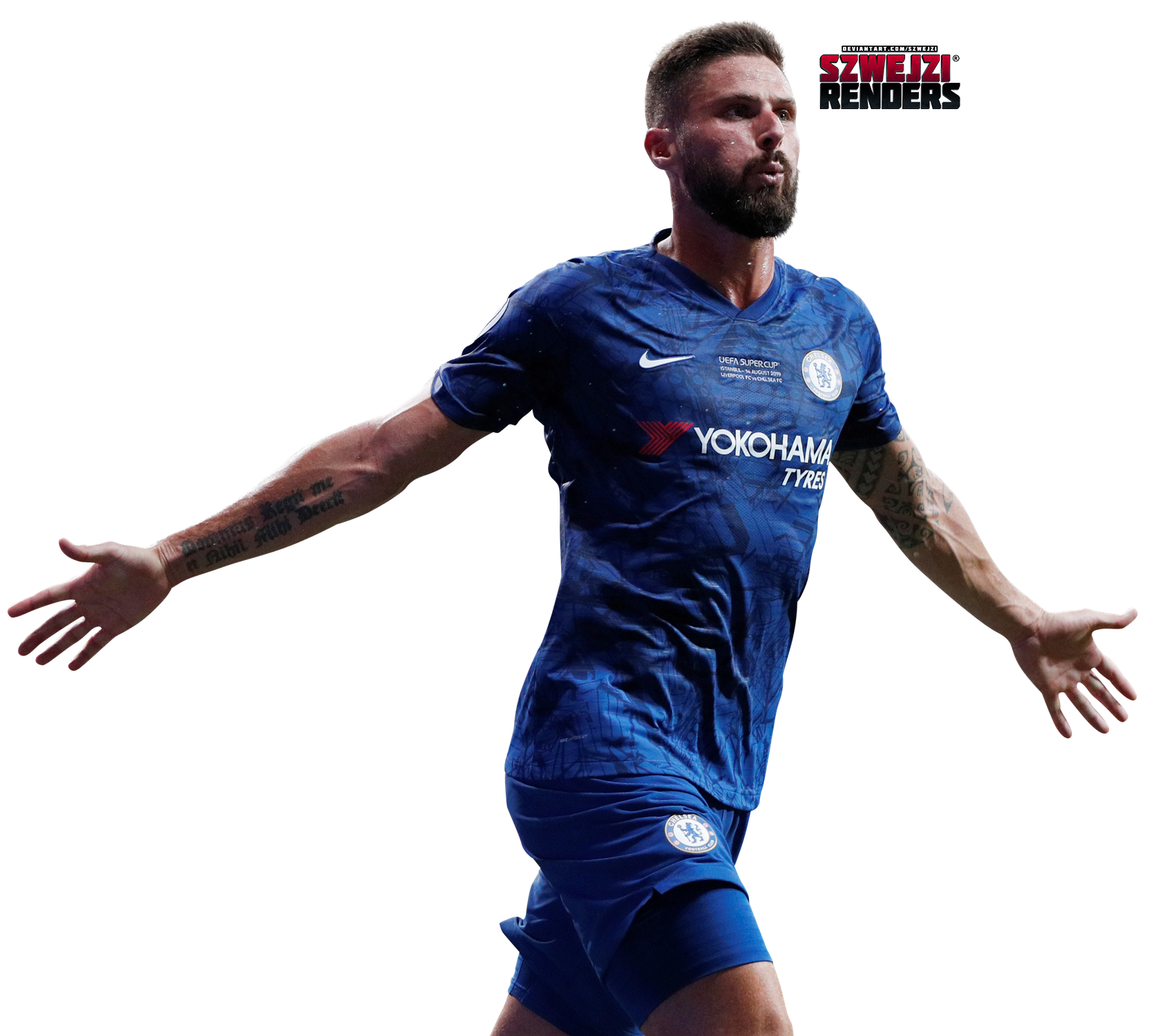 Olivier Giroud By Szwejzi On Deviantart 2174990 Png Images Pngio