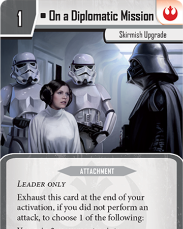 Diplomatic Mission Png - On a Diplomatic Mission | Imperial Assault Wiki | Fandom
