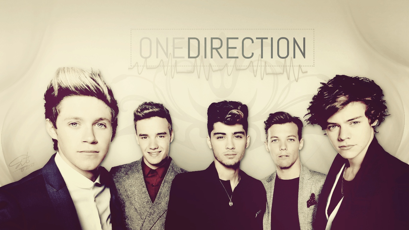 One Direction Laptop Wallpaper Free St 1111996 Png Images Pngio