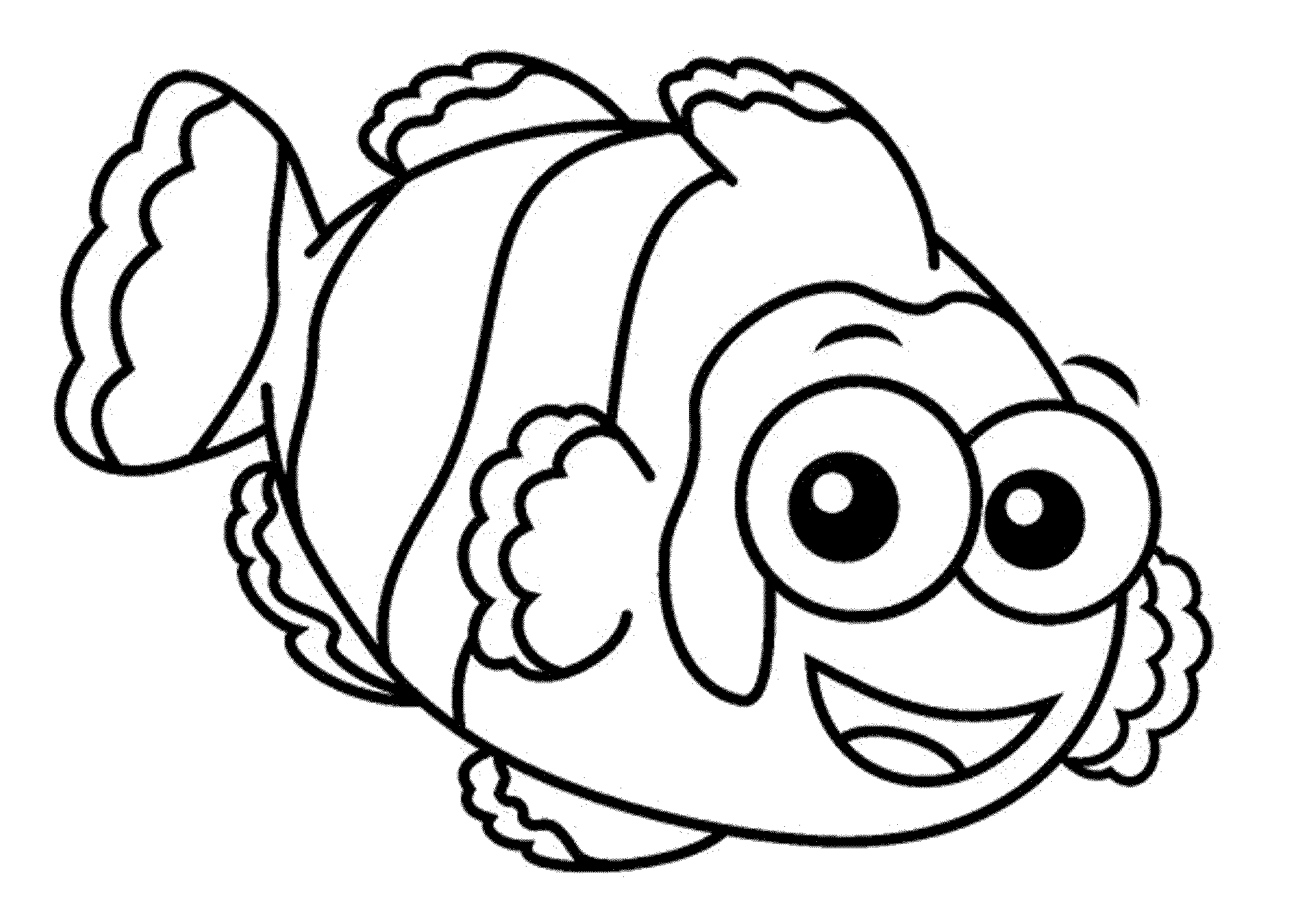 fish wildlife coloring pages | Fish Png Coloring & Free Fish Coloring.png Transparent ...