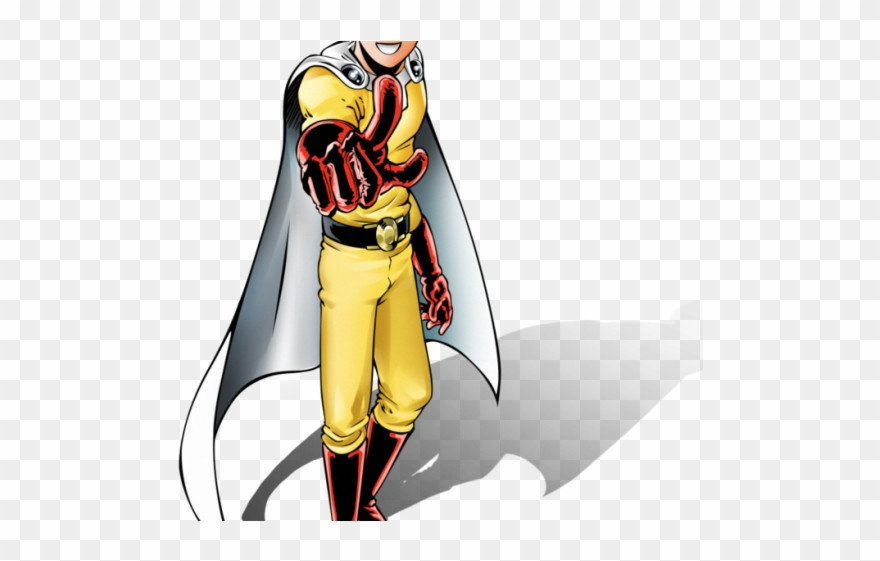 Anime One Punch Man Png - One Punch Man Clipart Serious Man - Anime One Punch Man Png ...