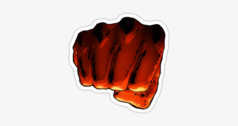 One Punch Man Logo Png - One Punch Man Fist - One Punch Man Fist Png - 375x360 PNG Download ...