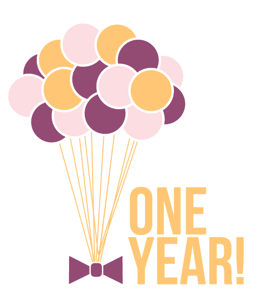 One Year Anniversary Png Amp Free One Year Anniversary Png