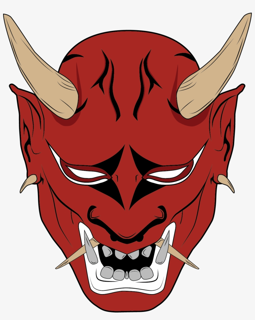 Oni Demon Png - Oni Mask Png & Free Oni Mask.png Transparent Images #39842 - PNGio
