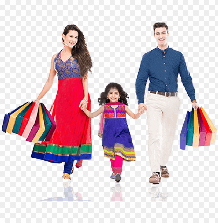 Shopping Family Png - online recharge - family shopping images PNG image with ...