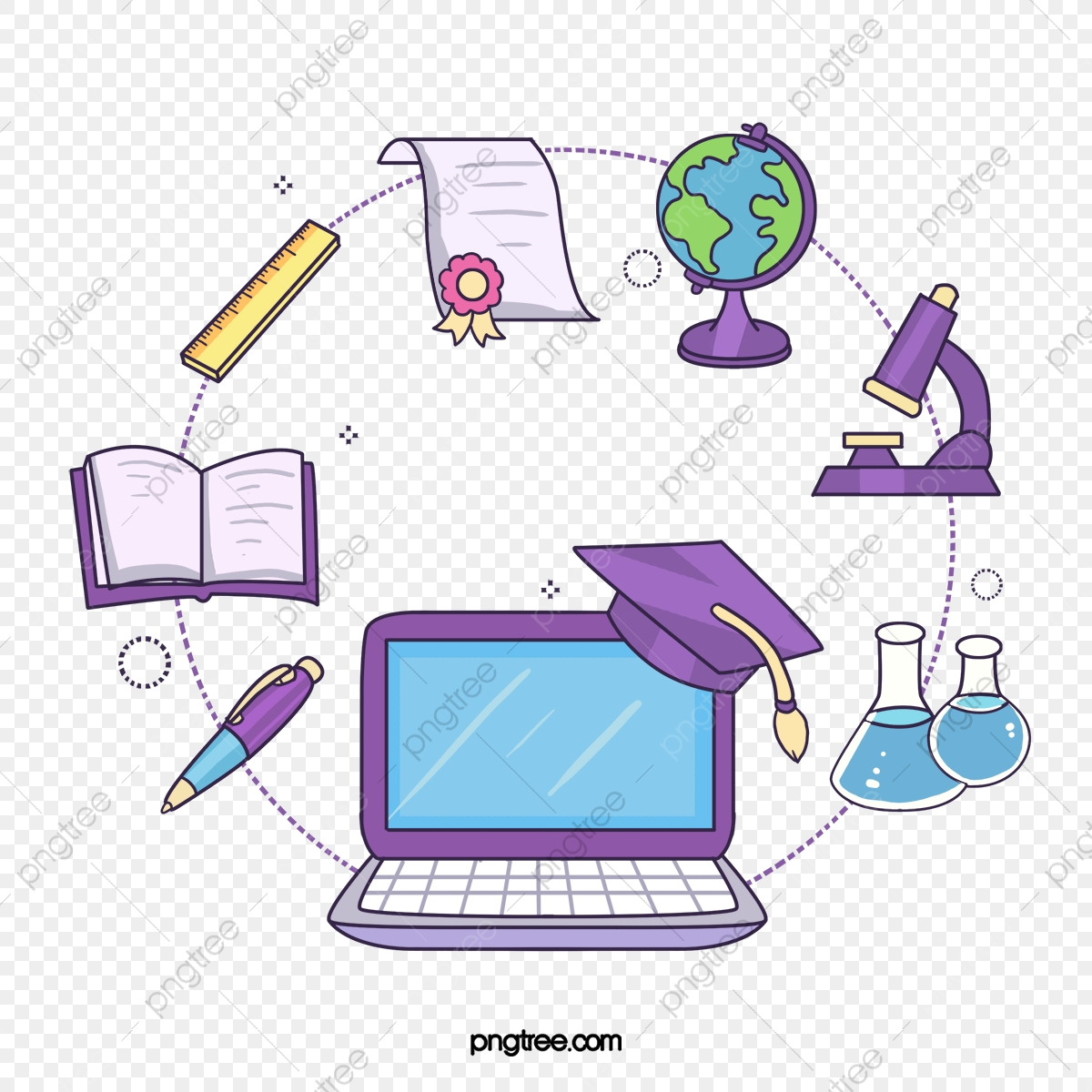 Computer Research Png - Online Teaching Linear Education Information, Computer, Online ...