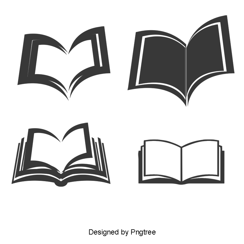 Open Book Vector - Open Book PNG, Book Icon, Opening Book PNG Images, Vectors And ...