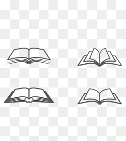 Free Book Png Black And White Free Book Black And White Png