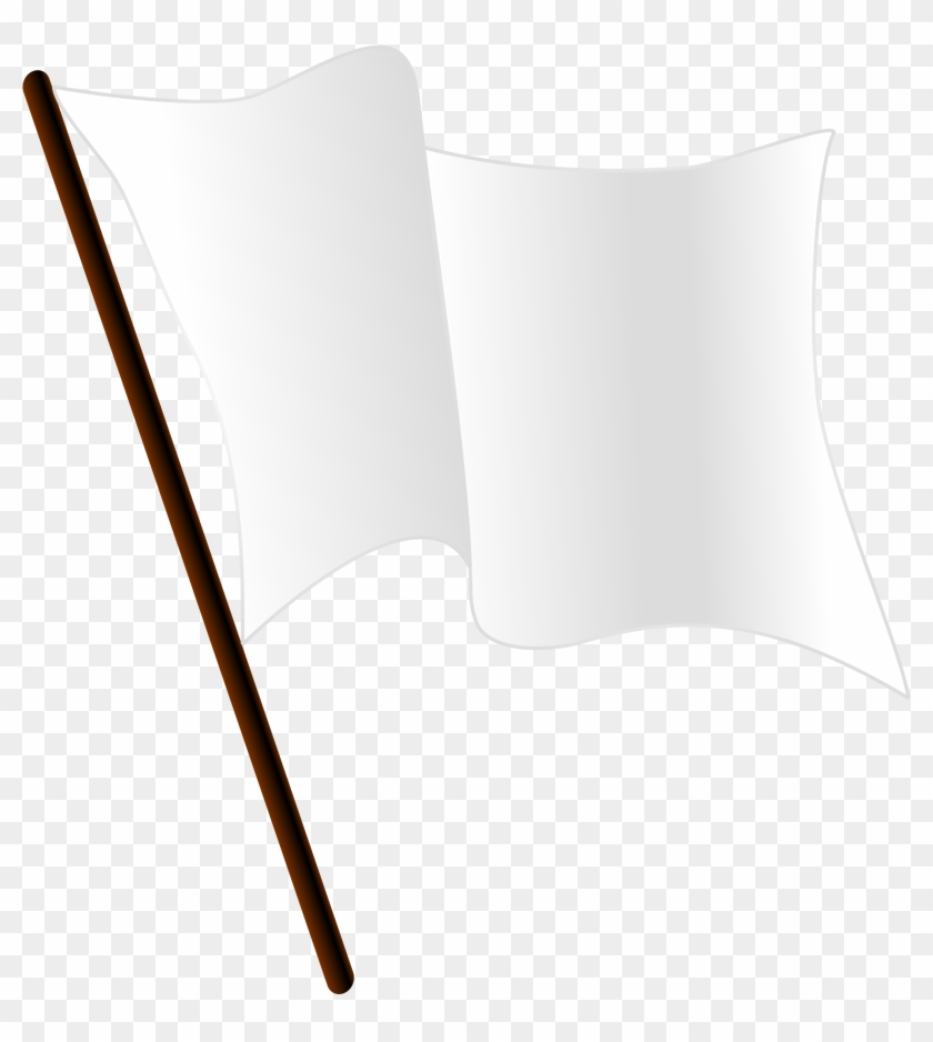 Throwing In The White Flag Png - Open - White Flag Gif Png Clipart (#24381) - PikPng