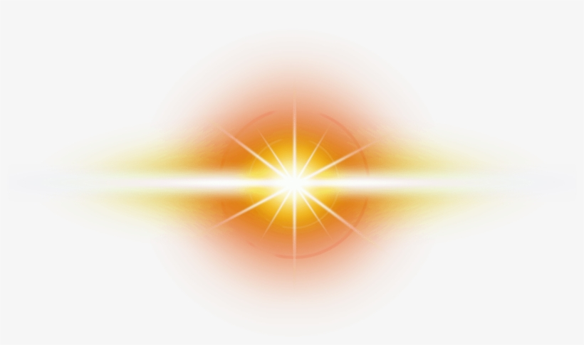 Orange Flare Png - Orange Transparent Optical Flare - Circle - Free Transparent PNG ...