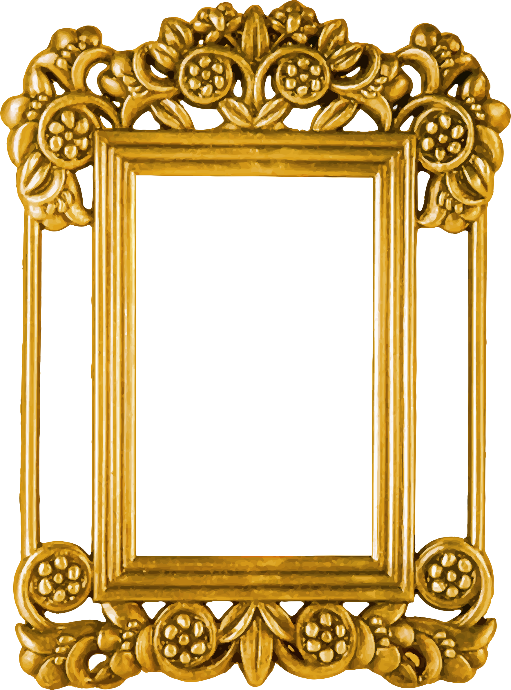 Ornate Picture Frame Png & Free Ornate Picture Frame.png ...