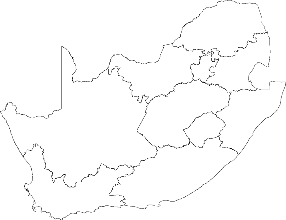 blank map of south african provinces South Africa Outline Png Free South Africa Outline Png blank map of south african provinces