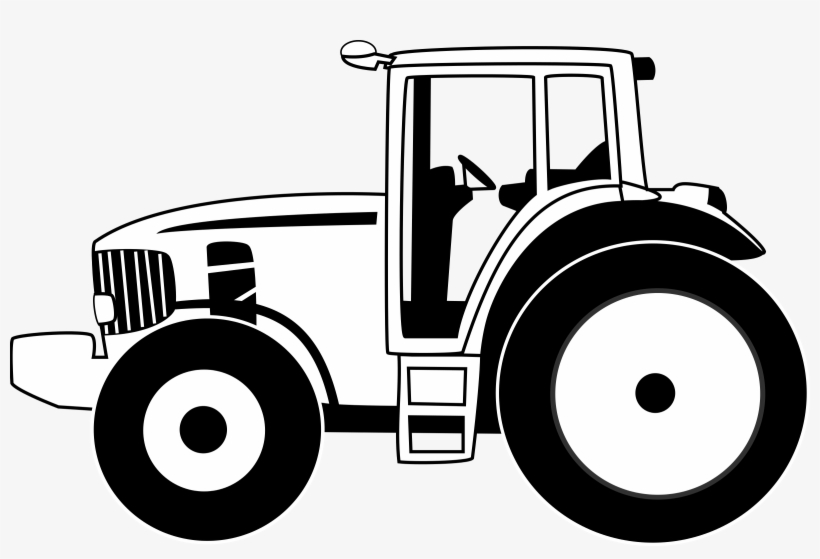 Tractor Outline Png - Outline Of Car - Outline Of Tractor Transparent PNG - 2400x1520 ...