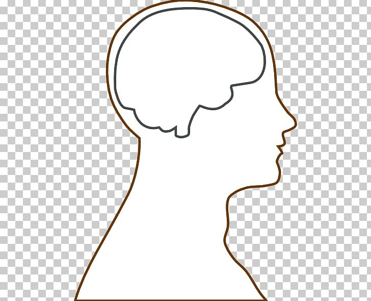 Head Outline Png - Outline Of The Human Brain Human Head PNG, Clipart, Anatomy, Area ...