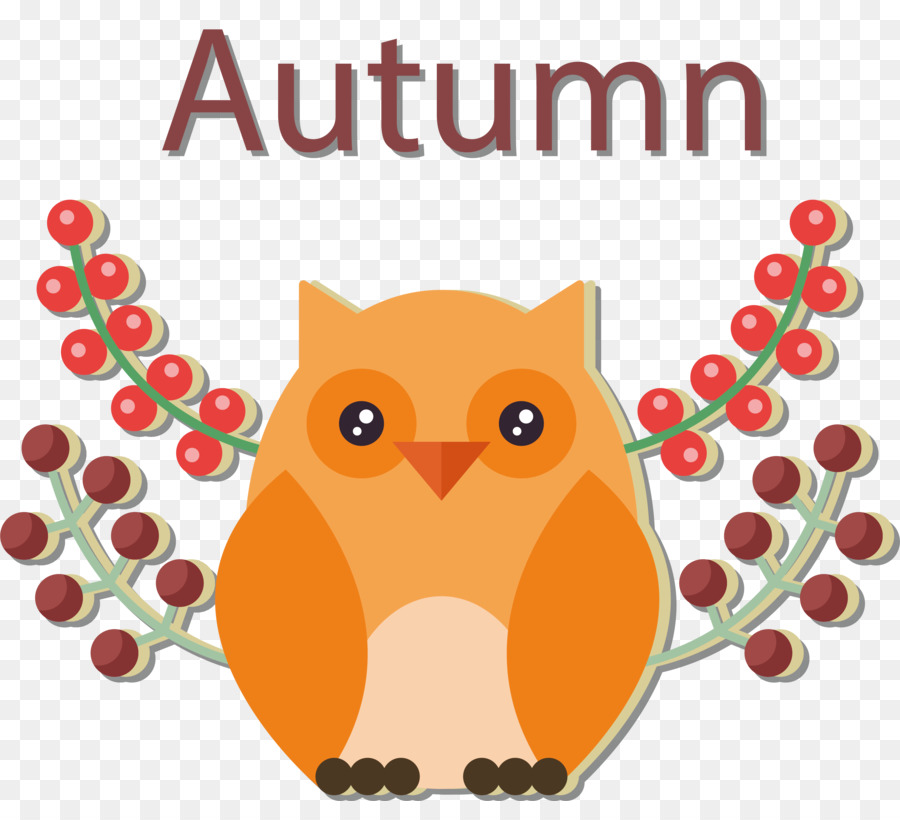Autumn Owl Png - Owl Clip art - Autumn owls