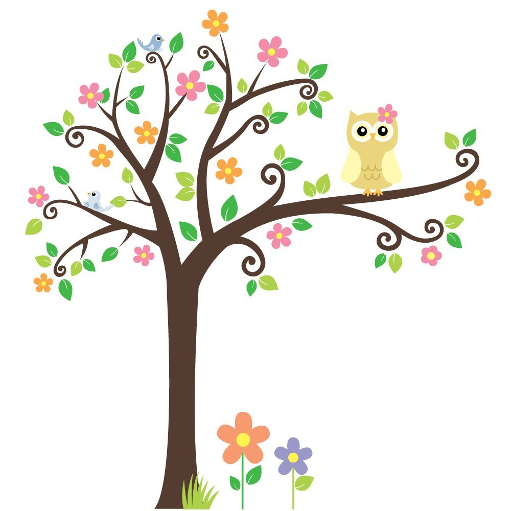 Owl Tree Png - Owl In Tree Clipart