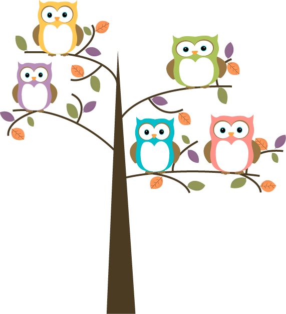 Owl Tree Png - Owl On Tree Clipart