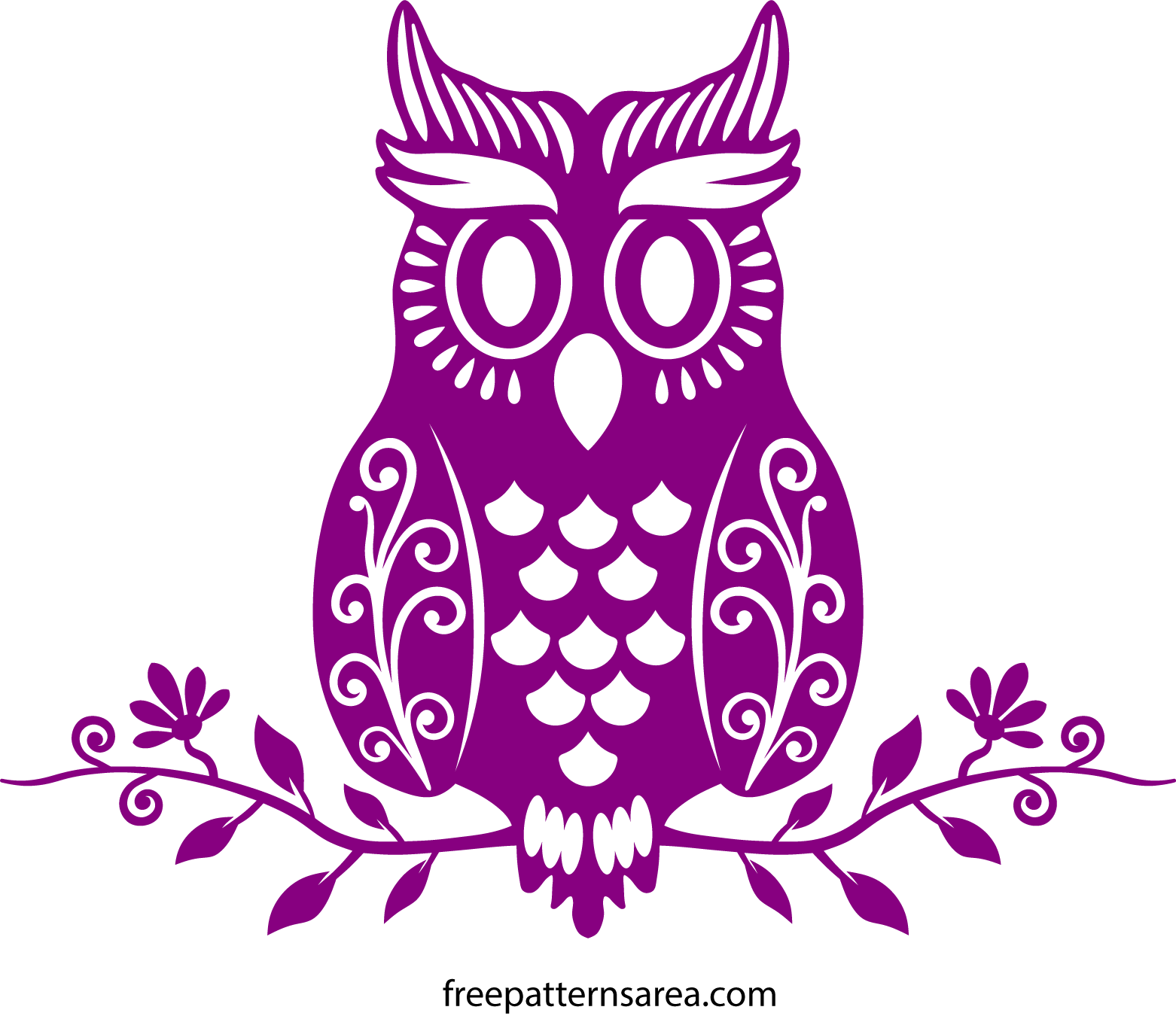 Cute Owl Stencil Png Free Cute Owl Stencil Png Transparent Images 144522 Pngio