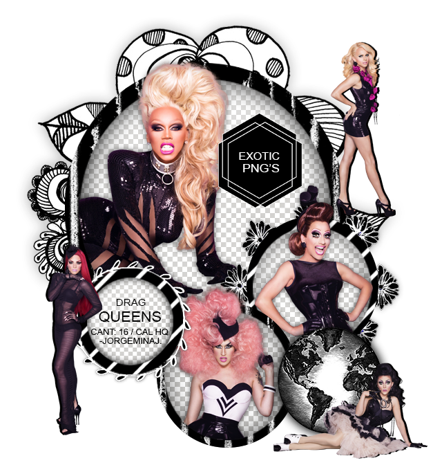 Drag Race Png - Pack Png 1481 // Rupauls Drag Race (Season #6) by ExoticPngs on ...