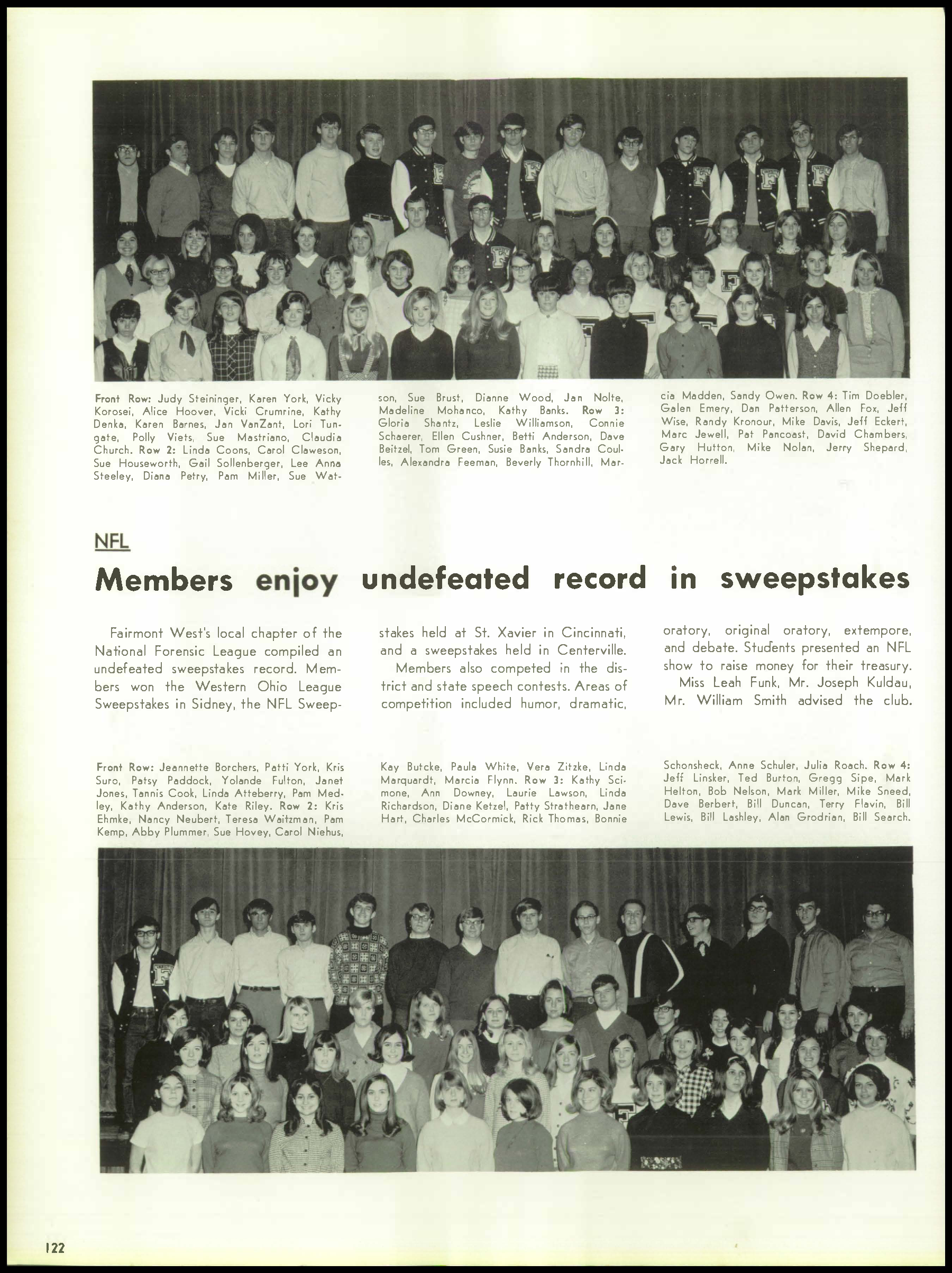 Yolande Fox Png - Page 126 - Yearbooks - Dayton Remembers: Preserving the History of ...