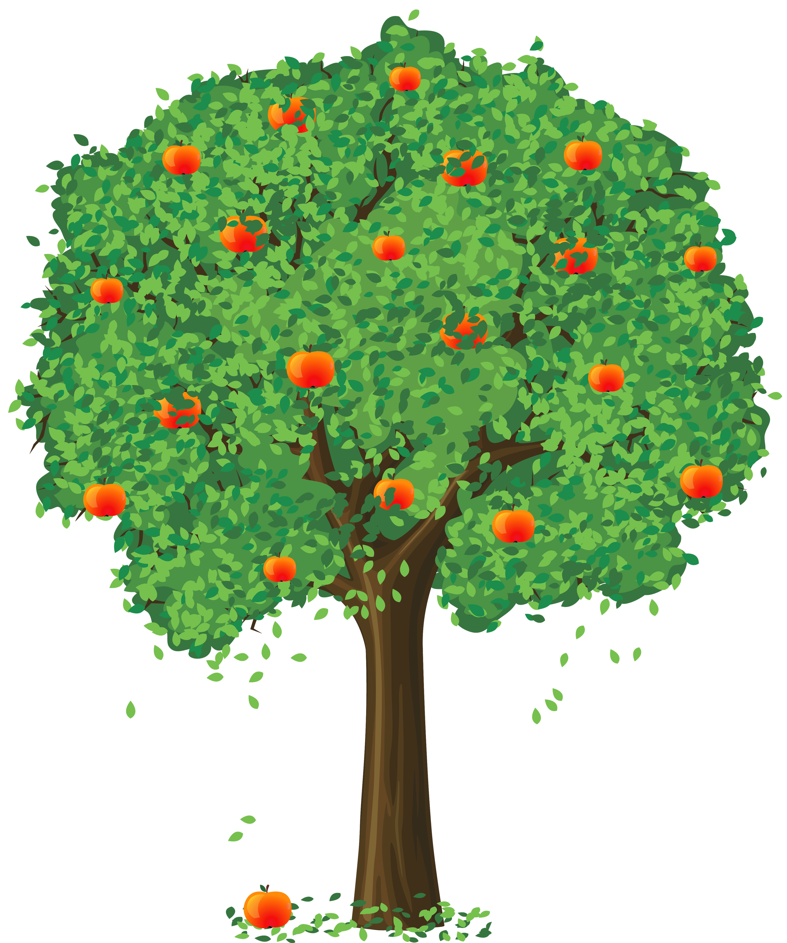 Apple Tree Png Free Use - Painted Apple Tree PNG Clipart | Gallery Yopriceville - High ...