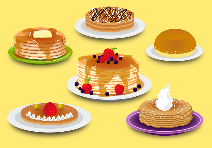 Free Png Pancakes - Pancake Vector - Download Free Vector Art, Stock Graphics & Images
