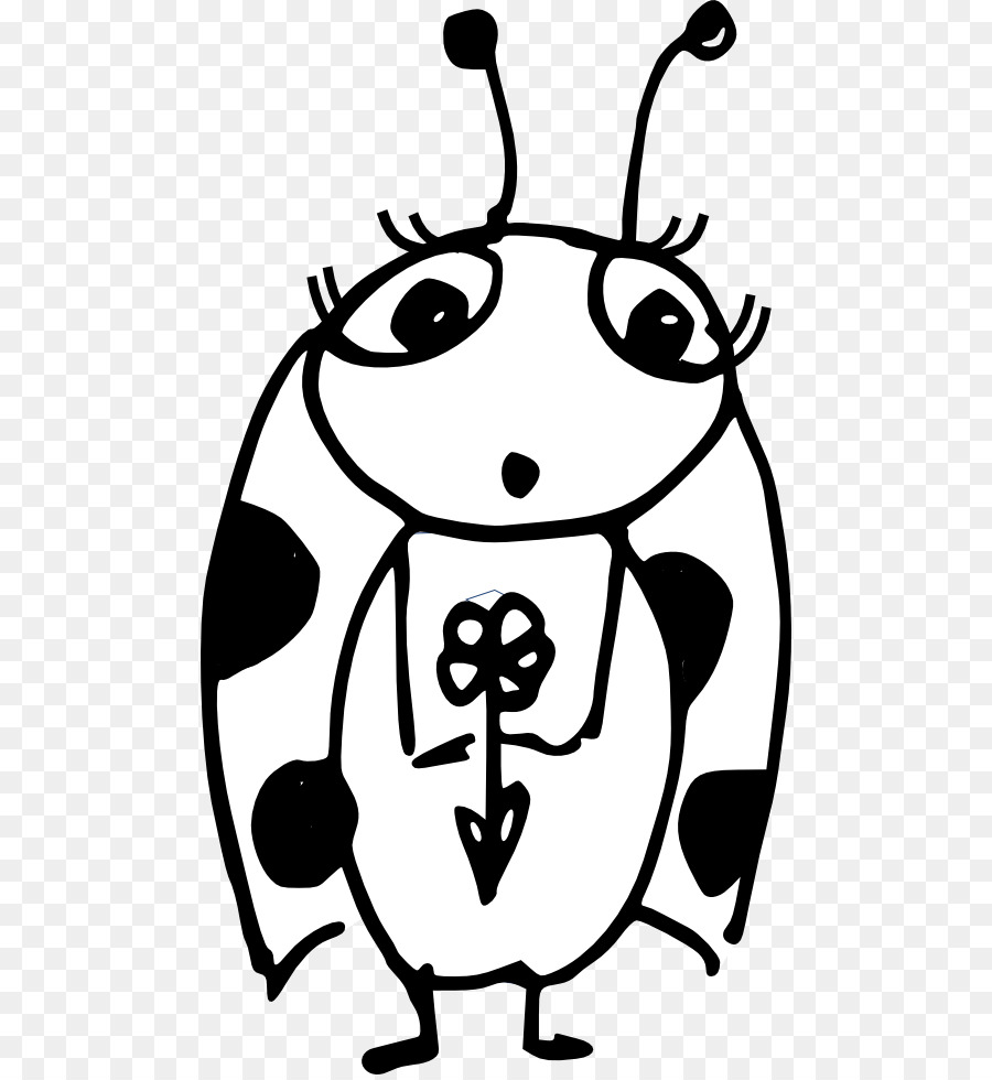 Get Well Soon Png Black And White - Paper Ladybird Little Red Ladybug Clip art - Free Get Well Soon ...