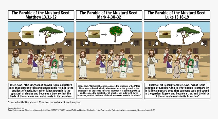 Mustard Seed Parable Png - Parable Of Mustard Seed Cartoon, HD Png Download , Transparent Png ...