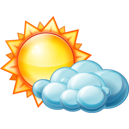 Cloudy Rainy Day Png - Partly Cloud Cloudy Day Weather Sunny Windy Partly Sunny Weather ...