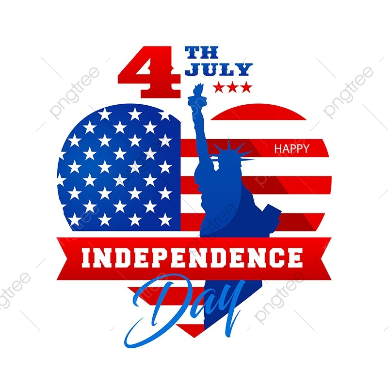 American Independence Day Png - Patriotic 4th Of July United States Of America Independence Day ...