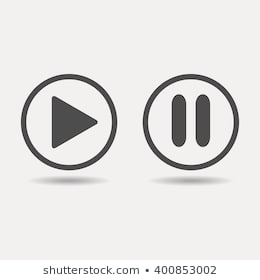 Play Pouse - Pause Symbol Images, Stock Photos & Vectors | Shutterstock