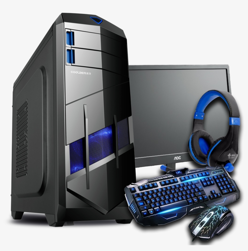 Pc Gaming Png - Pc Gamer Png Library - Gaming Wired Keyboard And Mouse Set Kit ...