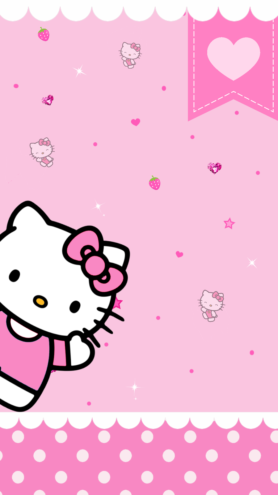 PC 96 Hello Kitty Wallpapers 900x1600 PNG