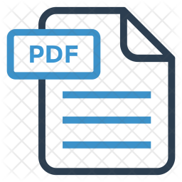 Pdf File Icon Of Line Style Available Png Images Pngio