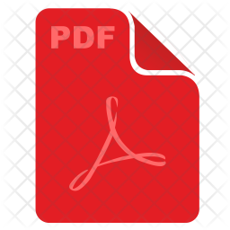 Pdf Icon Of Flat Style Available In Sv Png Images Pngio