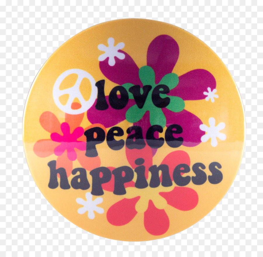Peace Love Happiness Png - Peace And Love