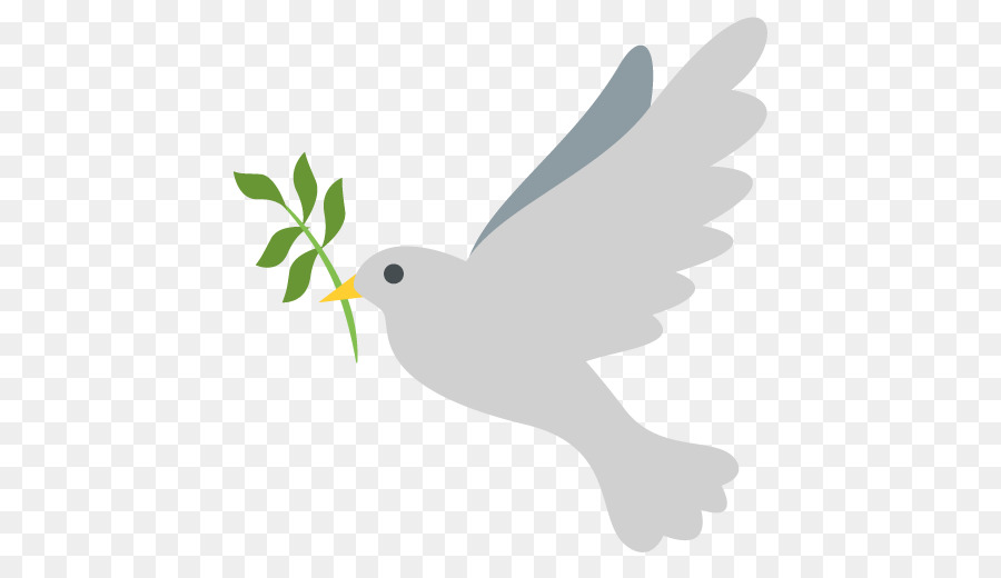 Peace Dove Png - peace dove png download - 512*512 - Free Transparent Emoji png ...