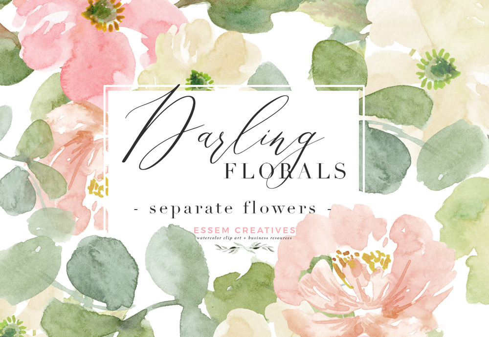 Png Watercolor Flowers - Peach Pink Watercolor Flowers PNG Clipart, Peony Clipart, Anemone ...