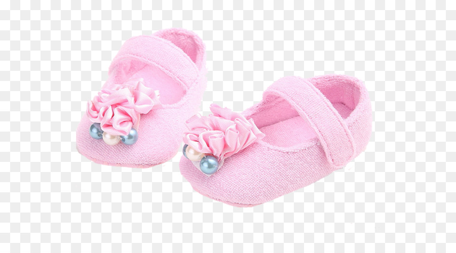 Baby Shoes Png - Pearl baby shoes png download - 600*488 - Free Transparent Slipper ...