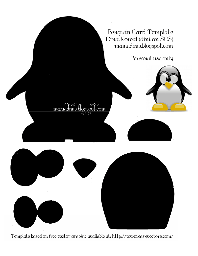 Penguin Template Cut Out from img.pngio.com