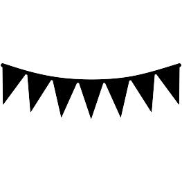 Pennant Banner Svg Png - Pennant Svg Transparent & PNG Clipart Free Download - YWD